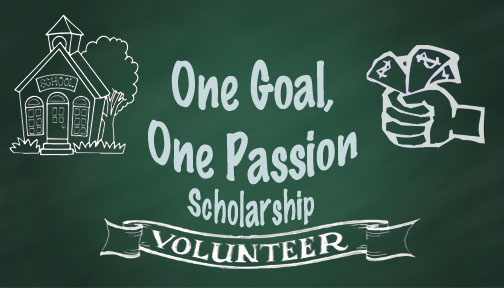 One Goal One Passion Scholarship Logo
