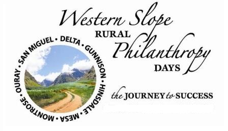 Western Slope Rural Philanthropy Days