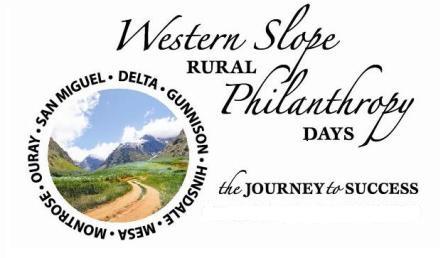 Western Slope Rural Philanthropy Days