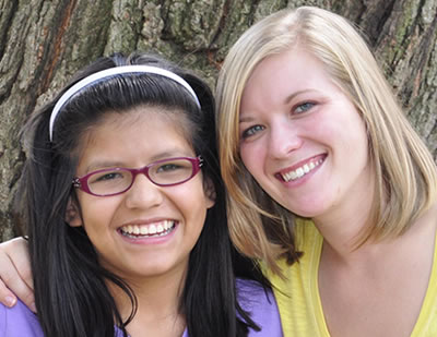 Two Young Women and Gunnison Valley Mentors