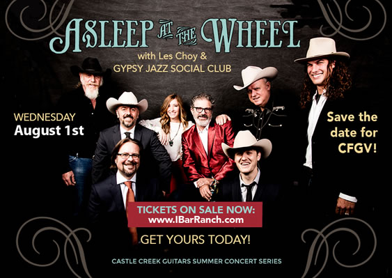 Asleep at the Wheel Concert to Benefit CFGV