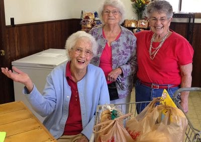 Gunnison Food Pantry Seniors' Day