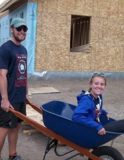 Habitat for Humanity - bike and build crew member