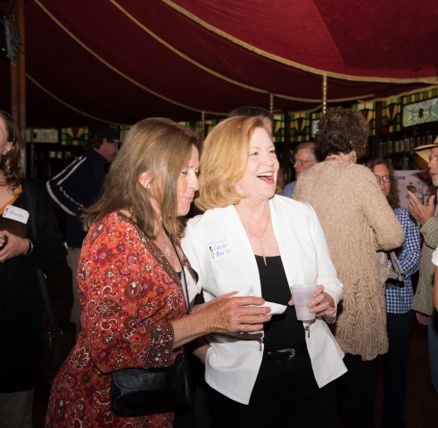 Marsha Collins and Lenni Burke